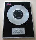 MICHAEL JACKSON - ROCKIN' ROBIN PLATINUM single presentation Disc